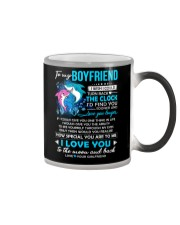 Shark Boyfriend Clock Ability Moon Color Changing Mug thumbnail