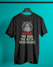 Viking Uncle Bad Influence Funny Classic T-Shirt lifestyle-mens-crewneck-front-3