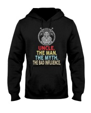 Viking Uncle Bad Influence Funny Hooded Sweatshirt thumbnail