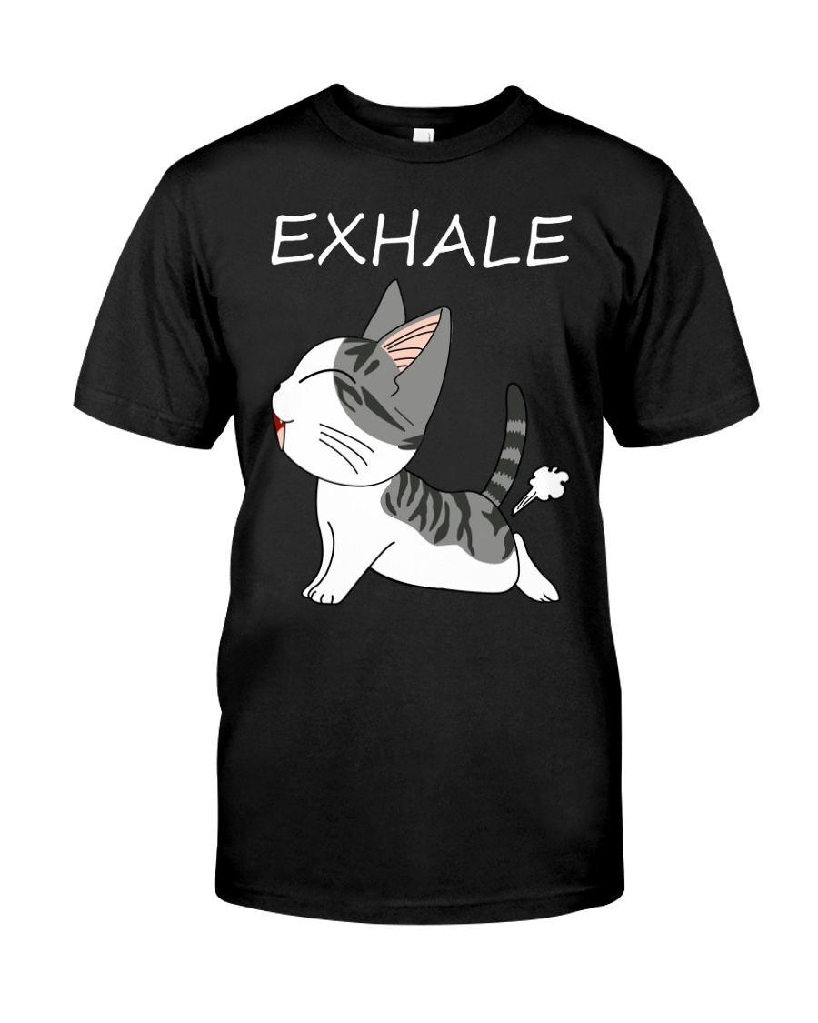 Cat Exhale Classic T-Shirt