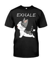 Cat Exhale Classic T-Shirt front