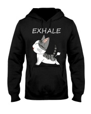 Cat Exhale Hooded Sweatshirt tile