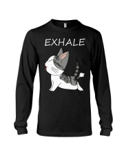 Cat Exhale Long Sleeve Tee tile