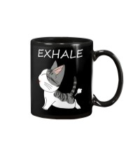 Cat Exhale Mug tile