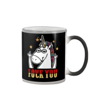 Love You Fuck You Unicorn Shirt Color Changing Mug thumbnail