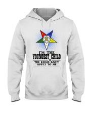 Freemason The Child Rules Hooded Sweatshirt thumbnail