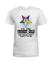 Freemason The Child Rules Ladies T-Shirt thumbnail