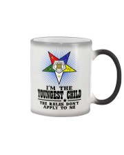 Freemason The Child Rules Color Changing Mug thumbnail