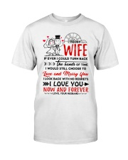 Turn Back Hand Of Time Wife Classic T-Shirt thumbnail
