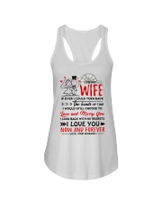 Turn Back Hand Of Time Wife Ladies Flowy Tank thumbnail