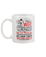 Turn Back Hand Of Time Wife Mug back