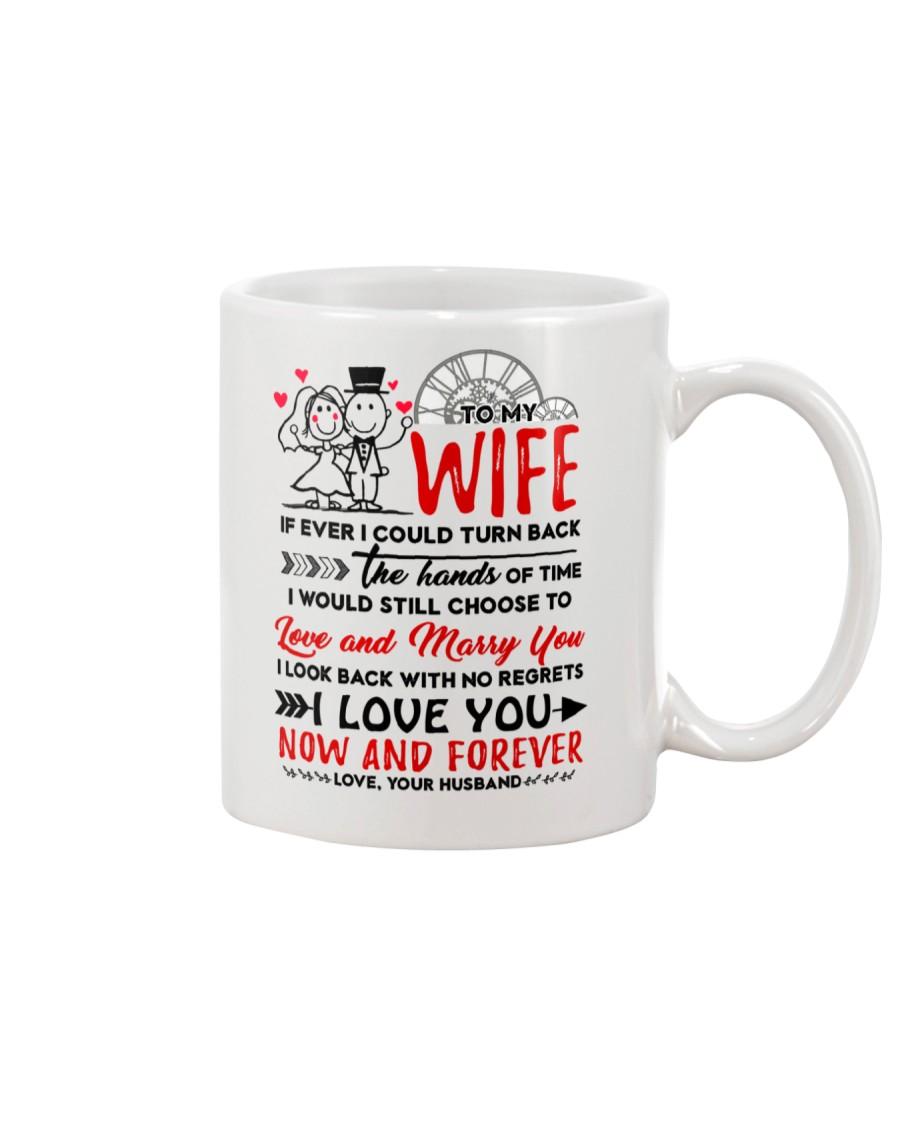 Turn Back Hand Of Time Wife Mug