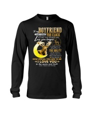 Hunting Boyfriend Clock Ability Moon Long Sleeve Tee thumbnail