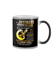 Hunting Boyfriend Clock Ability Moon Color Changing Mug thumbnail