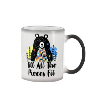 Till All The Pieces Fit  Color Changing Mug thumbnail