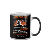 Firefighter Boyfriend Don't Want Anyone Else Color Changing Mug thumbnail