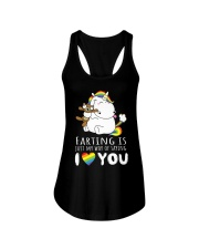 My way of saying I love you Ladies Flowy Tank thumbnail