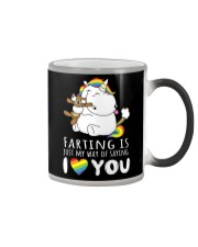 My way of saying I love you Color Changing Mug thumbnail