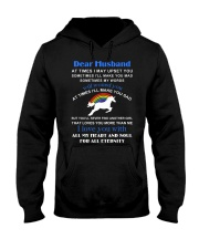 Unicorn Dear Husband You Never Find Another Girl Hooded Sweatshirt thumbnail