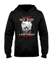 Wolf Bad Parent Then Shit Hooded Sweatshirt thumbnail