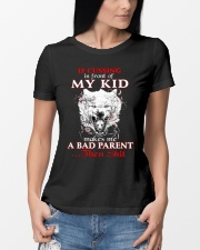 Wolf Bad Parent Then Shit Ladies T-Shirt lifestyle-women-crewneck-front-10