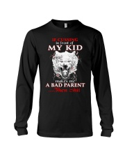 Wolf Bad Parent Then Shit Long Sleeve Tee tile