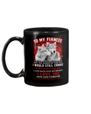 Wolf Turn Back Hand Of Time Fiancee Mug back