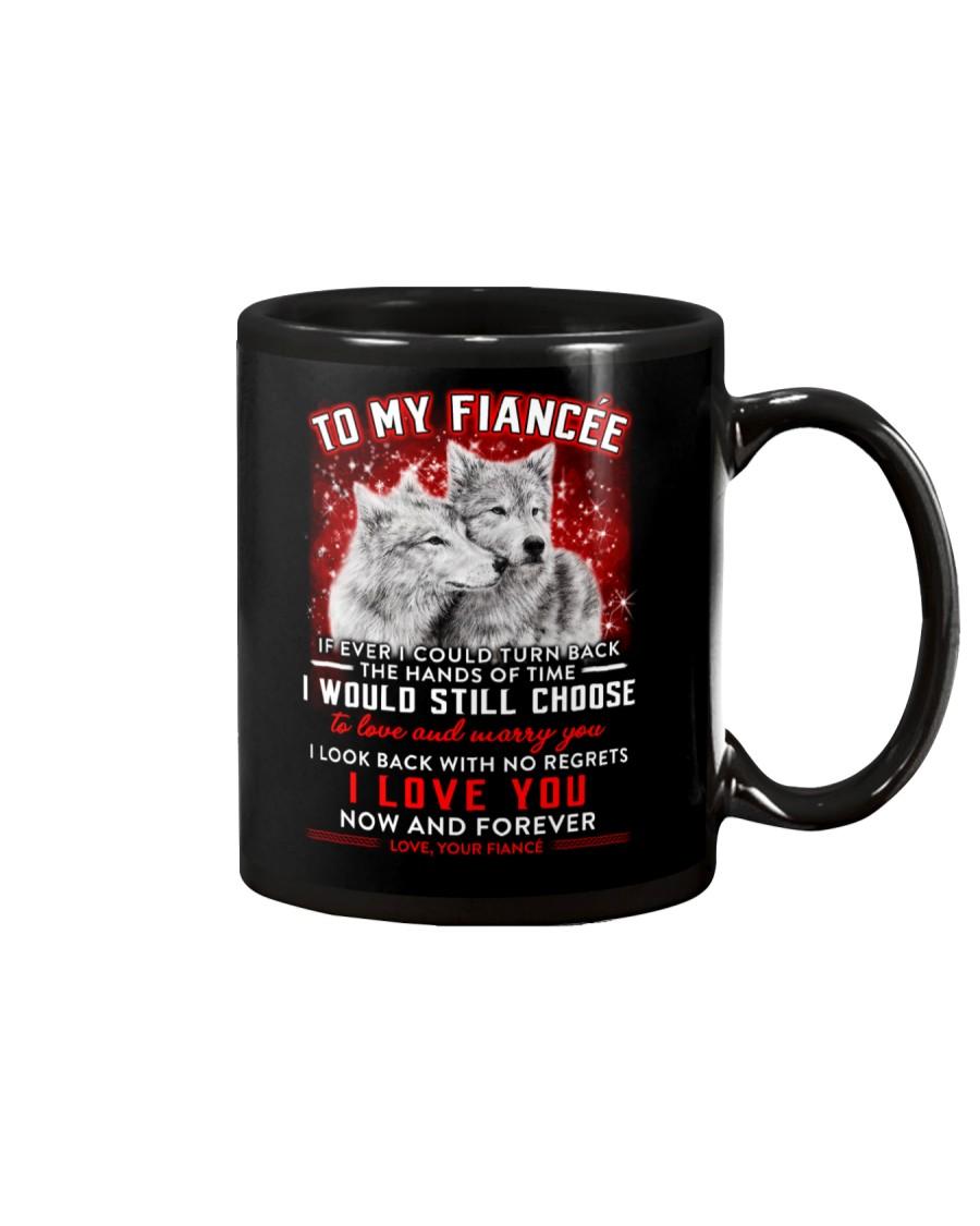 Wolf Turn Back Hand Of Time Fiancee Mug