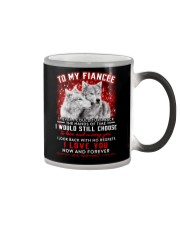 Wolf Turn Back Hand Of Time Fiancee Color Changing Mug thumbnail