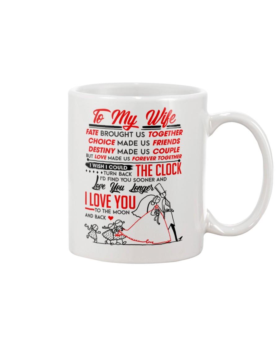 Family Wife Destiny Clock Moon Mug