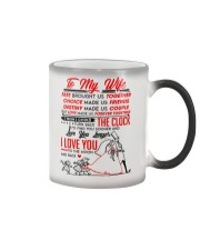 Family Wife Destiny Clock Moon Color Changing Mug thumbnail