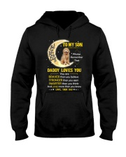 Goldendoodle Son Dad Daddy Loves You Hooded Sweatshirt thumbnail