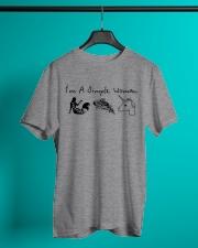 I'm a simple woman Classic T-Shirt lifestyle-mens-crewneck-front-3