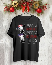 Farmer heifer Friends  Classic T-Shirt lifestyle-holiday-crewneck-front-2