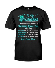 Turtle Mommy Loves You Daughter Classic T-Shirt thumbnail