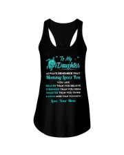Turtle Mommy Loves You Daughter Ladies Flowy Tank thumbnail