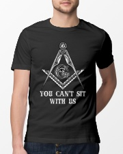 Freemason You Cant Sit With Us Classic T-Shirt lifestyle-mens-crewneck-front-13