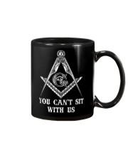 Freemason You Cant Sit With Us Mug thumbnail