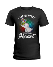 Autism Elephant Shirt Ladies T-Shirt thumbnail