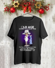 Nurse Shirt: Old Age Comes At A Bad Time Classic T-Shirt lifestyle-holiday-crewneck-front-2