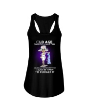 Nurse Shirt: Old Age Comes At A Bad Time Ladies Flowy Tank thumbnail
