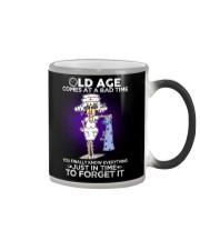 Nurse Shirt: Old Age Comes At A Bad Time Color Changing Mug thumbnail