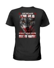 Just Because I'm Old Ladies T-Shirt thumbnail