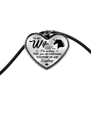 Unicorn Together We Are Everything Cord Heart Necklace thumbnail