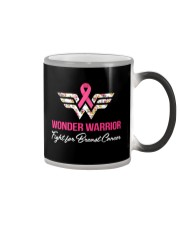 Breast Cancer Wonder Warrior Color Changing Mug tile