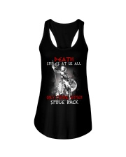 Vikings Shirt: Death Smile At Us All Ladies Flowy Tank thumbnail