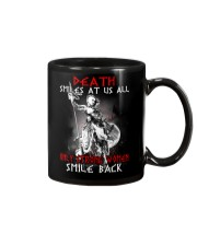 Vikings Shirt: Death Smile At Us All Mug thumbnail