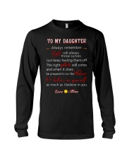 Softball to my daughter Long Sleeve Tee thumbnail