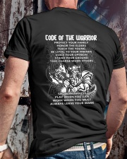 Code Of The Warrior Viking Classic T-Shirt lifestyle-mens-crewneck-back-2