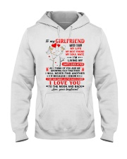 God Made Us Girlfriend Hooded Sweatshirt thumbnail